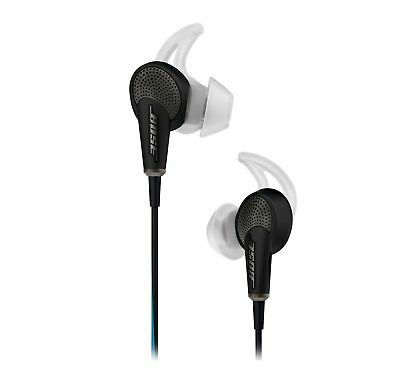 Bose QuietComfort 20 Black In-ear Noise Cancelling Headphones for Apple