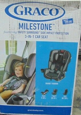 Graco Milestone All-in-One Convertible 3 in 1 Car Seat