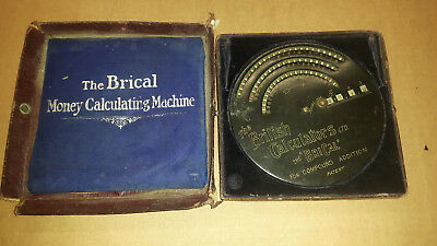 The Brical money calculating machine gebraucht
