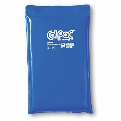 ColPac Half Size Reusable Gel Ice Pack Chattanooga Cold Therapy Blue 7.5 x 11