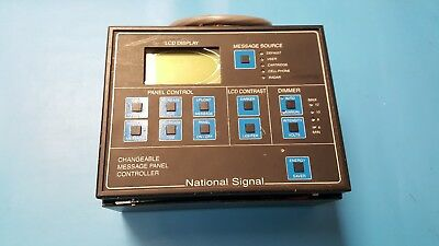 US Traffic Corporation, Changeable Message Panel, National Signal, For Parts