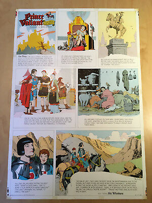 Harold, Hal Foster PRINCE VALIANT Proof Page 1962 Full Size syndicate proof rare