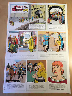 Harold, Hal Foster PRINCE VALIANT Proof Page 1963 Full Size syndicate proof rare