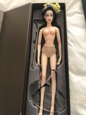 "Jamieshow ""Mayumi"" 2009 Blossom Collection  - Nude Doll Box Stand And Wig Vgc"