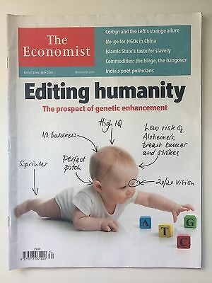 The Economist Magazine August 22nd 2015 - Editing Humanity