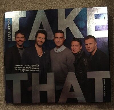 Take That Treasures Of Take That Book Excellent Condition