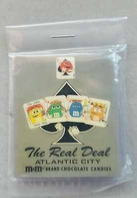 M&M Candies The Real Deal Atlantic City Magnet **NEW**