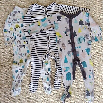 3 Marks And Spencer's Sleep suits 9-12 Months