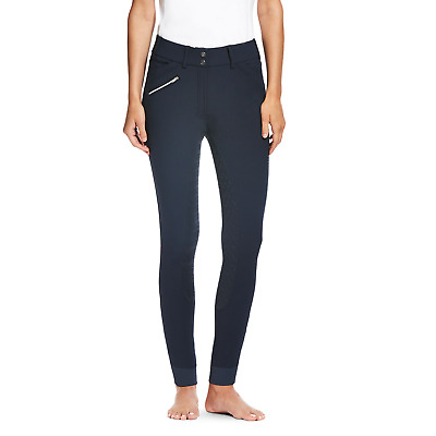 Ariat Olympia Womens Full Seat Grip Breeches - Navy Blue