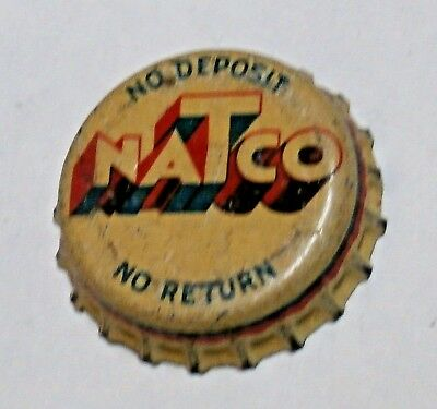 Natco Cork Soda Bottle Cap - Chicago, Illinois