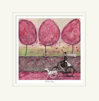A Pink Day - Limited Edition Print by Sam Toft