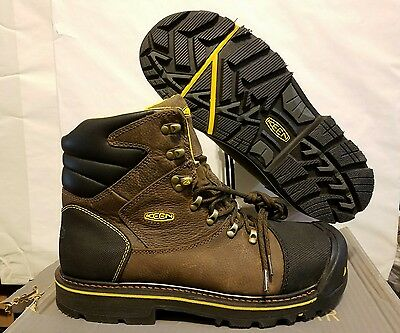 Keen Mens Milwaukee Utility Steel Toe Brown 1007976D Work Boot: 13