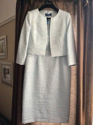 Zelia pale blue mother of the bride/groom dress and Jacket
