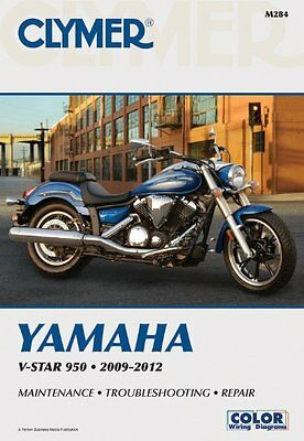 Yamaha V-Star 950 2009 - 2012 Clymer Owners Service & Repair Manual