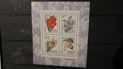 1971 Russia Flora 4 Stamp  Release  MNH