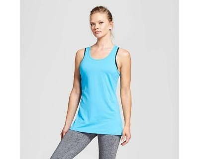 7827711783 C9 Champion Women's Performance Long Tank Top - Turquoise Blue - Pick Size