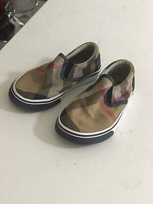 Pre Loved Burberry Boy Shoes Size 26