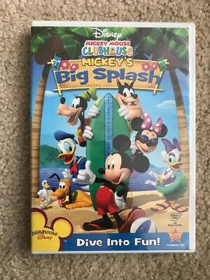 Mickey Mouse Clubhouse: Mickey's Big Splash! BRAND NEW!