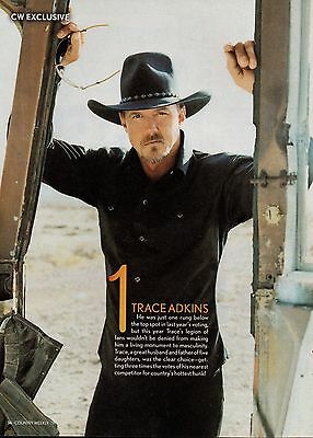 Trace Adkins 1 Page Magazine Picture Clipping Country Music