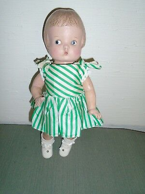 """14"""" Composition Unmarked Patsy Doll Tlc"""