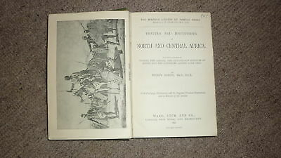 Rare 1890 Africa History Book, Barths Travels, Central Africa Sahara 600+ Pages