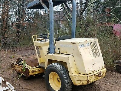 BOMAG BW122D Pad Foot Compactor