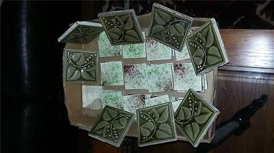 36 Vintage Hamilton Tile Co. Fireplace Tiles..mission /arts And Crafts Era