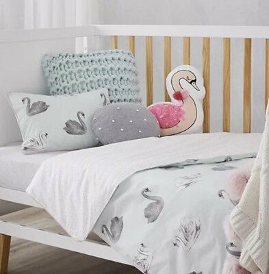 adairs kids ODETTE Cot quilt cover set new in packaging
