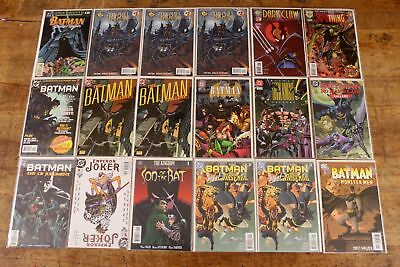 mixed lot BATMAN #1 comic books all different 60 issues first issues 90s 2000s