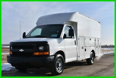 2003 Chevy 3500 Walk in Service Utility Plumbers Box