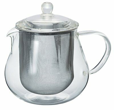 Hario Reef Teapot Tea Pot clear 450ml CHC-45T from JAPAN