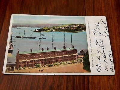 """1905. Sydney. View of Blue's Point and MacMahon's Point. .Australia... """"L@@K""""."""