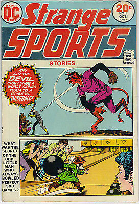 "HOT RARE DC Comics' ""Strange Sports Stories"" vol. 1 # 1 October 1973"