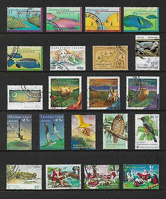 CHRISTMAS ISLAND mixed collection No.10, used
