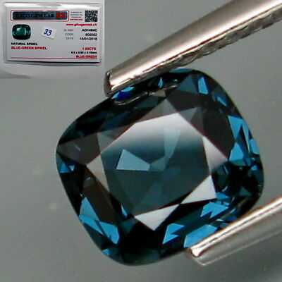 1.03Ct.FREE CERTIFIED! Natural Blue Spinel MaeSai,Thailand Lupe CLEAN!