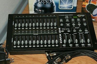 JB SYSTEMS CMX-24 (Table mixage DMX)