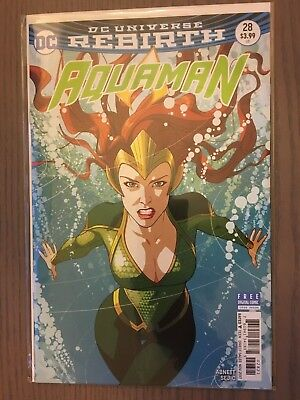 Aquaman #28 Middleton Mera Variant Cover 2017 DC Comics