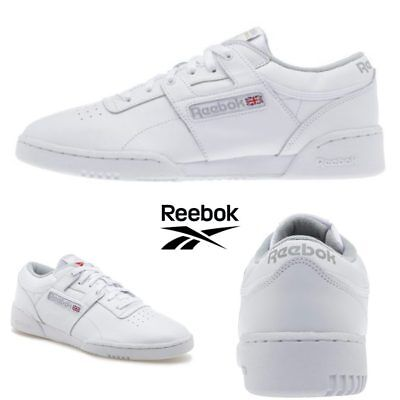 94a06c8e03a Reebok Classic Workout Low Running Shoes Sneakers White CN0636 SZ 4-12.5