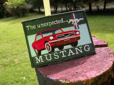 FORD MUSTANG  patch  1964-66 cloth 4 inch cloth patch Unexpected