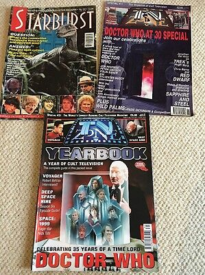 Doctor Who 30Th Anniversary Promotional Magazines 1993
