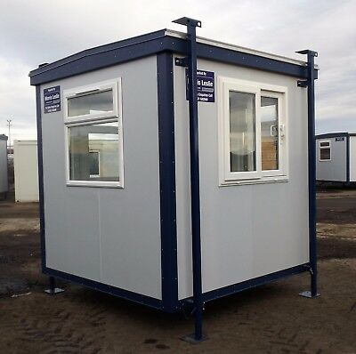 New Plastisol Steel Gatehouse Cabin