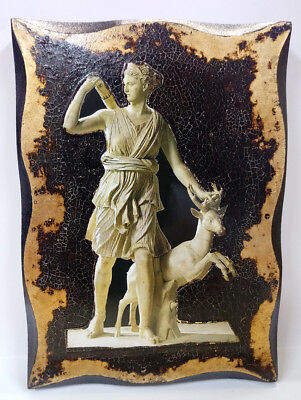 Artemis Goddess of the Hunt, Forests and Hills, the Moon, Archery goldenleaf 24Κ