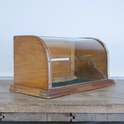 Antique Display Box Bow Glass