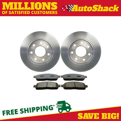 Front Set of Premium Rotors & Semi Metallic Pads fits Ford Lincoln