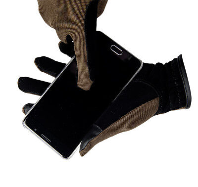 HKM PRO TEAM Riding Gloves - Professional - Touchscreen Function