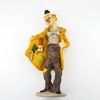 Gilde Clown Figur Sammlerfigur Figurine Collectible Figure Artmark Signed SeeMe