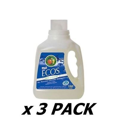Ecos Laundry Liquid Ecos Liquid - Lavender - 50 Washes 1.5Ltr (3 Pack)