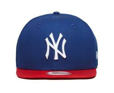 New Era 9FIFTY MLB New York Yankees Cotton Block Blue Adjustable Snapback Cap