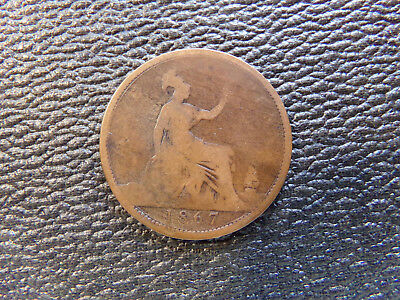 1867 Great Britain Penny