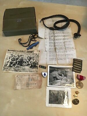 A mixed lot of WWII memorabilia